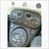 autoplus FIAT500/ABARTH500 アルミエアコンリング オートA/C