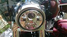 CVOハーレーダビッドソン(純正) LEDヘッドランプユニットの単体画像