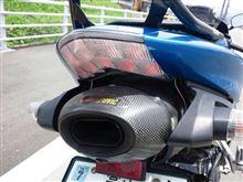 NinjaZX-6RAKRAPOVIC スリップオンサイレンサーの全体画像