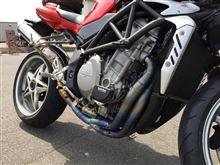 """ブルターレ750sMOTO COESE Titanium Exhaust System """"Evoluzione""""の全体画像"""