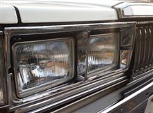 セドリックワゴン日産(純正) 430用 角4灯ヘッドライトの単体画像