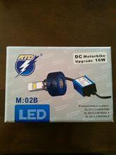 レッツ4RTD LEDヘッドライトの単体画像