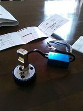 レッツ4RTD LEDヘッドライトの全体画像