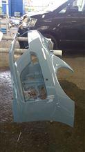 ザ・ビートル(カブリオレ)V純正  レーサーのバンパーの単体画像