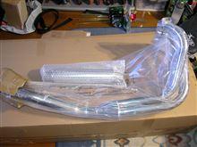 GSX250S KATANA (カタナ)PRETTY RACING マフラーの単体画像