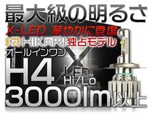 FZX750メーカー・ブランド不明 ヤフオク LEDライト(H4)の単体画像