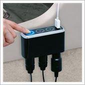 SEIWA タッチセンサーソケット+USB F252