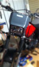 TW200ヤマハ(純正) ヘッドライトの単体画像