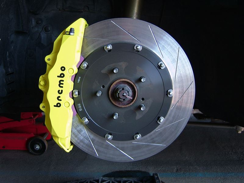 UNLIMITED WORKS BREMBO 8PODモノブロックキャリパーキット
