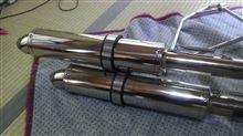 ベンリィ CD125Tメーカー・ブランド不明 汎用マフリャーの単体画像