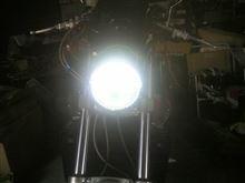 V-MAX社外  LEDヘッドライトの全体画像