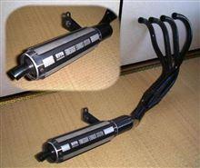 CBR400Fモリワキエンジニアリング フォーサイトマフラーの単体画像