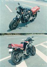CBR400Fモリワキエンジニアリング フォーサイトマフラーの全体画像