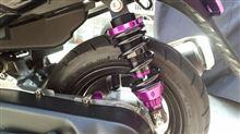 JOG ZR Evolution (エボリューション)KN企画 スーパーショック【減衰調整付/全長調整式車高調整キット】[パープル]の単体画像