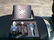 リード125HIKARI Trading オールインワン H4 LEDの単体画像
