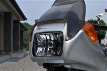 Kシリーズ自作 マルチリフレクターヘッドランプの単体画像