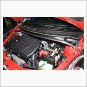 オクヤマ(carbing) スイフトスポーツ(ZC32S) ストラットタワーバー フロント タイプI スチール製
