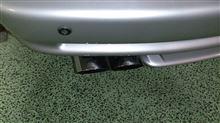 8シリーズMK MOTORSPORT E31 850i用リアマフラーの単体画像