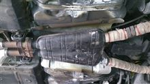 8シリーズMK MOTORSPORT E31 850i用リアマフラーの全体画像