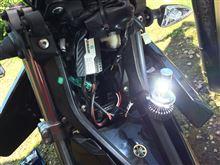 WR125X不明 LED HeadLamps (H4)の全体画像