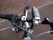 折畳自転車GENTOS LED Bike Light AX2の全体画像