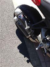 MONSTER1100 (モンスター)テルミニョーニ ドゥカティパフォーマンス スリップオンの単体画像