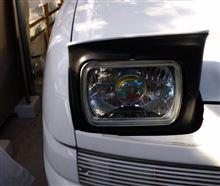 ユーノス100ヤフオク 不明 角型プロジェクターヘッドライトの単体画像