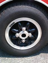 ミニCOOPER CAR CO CRホイールの単体画像