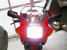900SL スーパ-ライトAutoSite 2000Lm H4 LEDバイク用ヘッドライトの全体画像