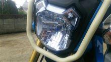 ズーマーXH2C ブルーライトの全体画像