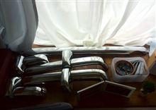 ムーヴラテダイハツ ミラジーノ メッキバンパー 流用①の単体画像