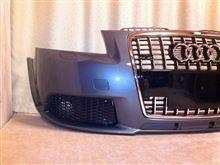 A3Audi純正(アウディ) S-Lineバンパー、オリジナル化の単体画像