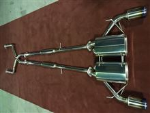 G37 coupeEXHAUTECH EXHAUTECH ワンオフマフラーの単体画像