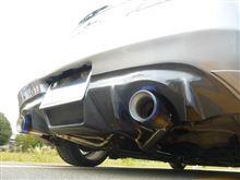 G37 coupeEXHAUTECH EXHAUTECH ワンオフマフラーの全体画像