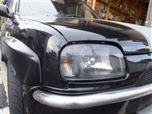 m13DEPO クリスタルヘッドライト(ブラックインナー)の単体画像