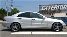 Cクラス セダンラングス 車高・減衰力調整式サスペンションkitの全体画像