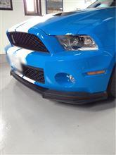 SHELBY GT500フォード純正 フロントエアダムスポイラーの単体画像