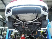 RS5Scorpion Exhausts Cat Back Exhaust Systemの全体画像
