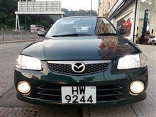 ファミリアS-ワゴンマツダ(純正) Familia S Wagon Sport20 Front Bumper setの全体画像