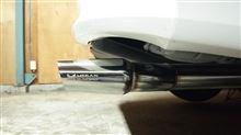 シエナMegan Racing ステンレスリアマフラーの単体画像
