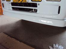 サンバートラック某メーカー純正 フロントアンダースポイラーの全体画像