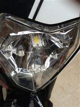 200 DUKE不明 LED H4 Hi/Lo バルブの単体画像