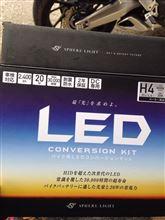 CRF1000L アフリカツインスフィアライト LEDヘッドライトの単体画像