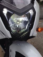 CRF1000L アフリカツインスフィアライト LEDヘッドライトの全体画像