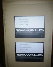 7シリーズWALD DTMスポーツ リアマフラー ステンレス (W212 E350/E550)の全体画像
