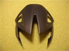 ドルソデューロ750メーカー・ブランド不明 カーボン フロントウィンドシールドフェアリングの単体画像