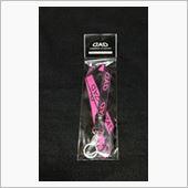 D.A.D / GARSON  D.A.D ネックストラップ ブラック/ピンク