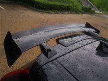 フィット3 ハイブリッドTAKERO'S リアウィング 2の単体画像