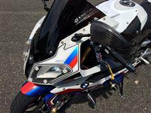 S1000RRDAYTONA(バイク) レンズガードの全体画像