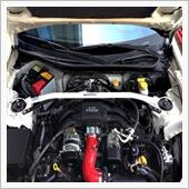 ㈱オクヤマ(CARBING) 左ハンドル専用86(ZN6)/サイオンFR-S/スバルBRZ ストラットタワーバー フロント タイプI スチール製